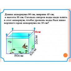 Способы расчета объема аквариума