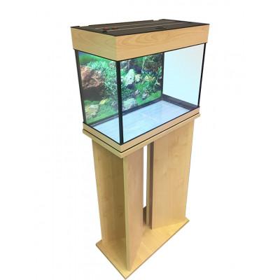 Аквариум с тумбой 60 литров, прямоугольный (60х25х46) см.