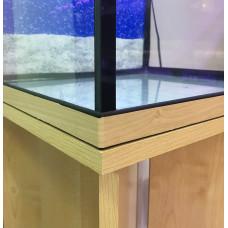 Аквариум 63 литра без тумбы, прямоугольный (41х36х51) см.