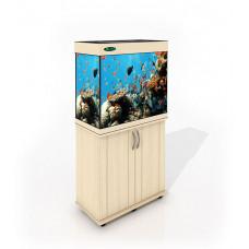 Аквариум Карон без тумбы 120 литров прямоугольный (70х35х56) см.