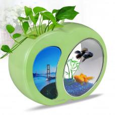 """Аквариум комплект """"sunsun"""" YB-02 зелёный, 4.5 литра, (ZELAQUA)"""