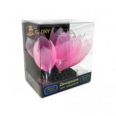 Флуоресцентная аквариумная декорация GLOXY Морской желудь 9.8x7.5x11см