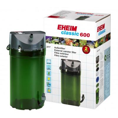 Внешний фильтр ЕНЕIМ CLASSIC 600 (2217), с наполнителями(губки). До 600 л