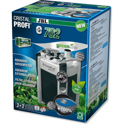Внешний фильтр JBL CristalProfi e702 greenline для аквариумов объемом 60-200 л
