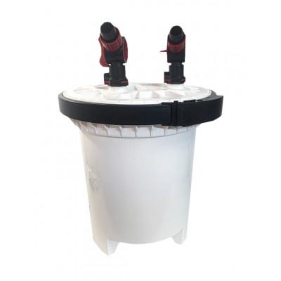 """Фильтр внешний HW-5000 SUNSUN"""", с UV стерилизатором 9W, скимером и регул. мощ. помпы, 50W"""
