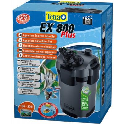 Внешний фильтр Tetra EX 800 Plus для аквариумов от 100 до 300 литров