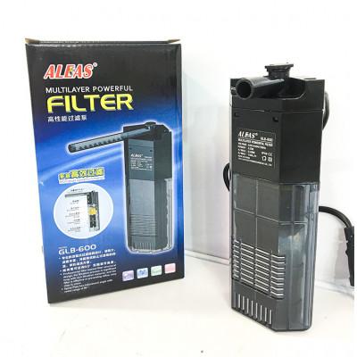 ALEAS Внутренний фильтр угловой с флейтой 150 л/ч, 3,5w,  для аквариумов до 20 литров