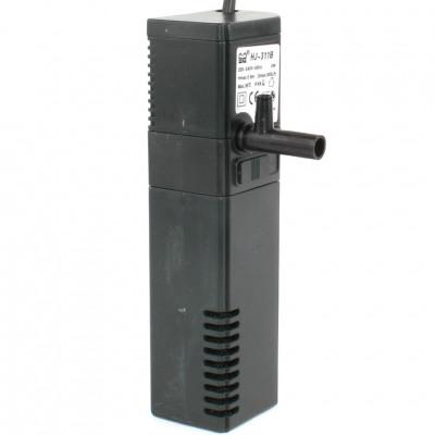 Фильтр внутренний HJ-311B с поворотной дождев. флейтой и регулятором потока, 2W (300л/ч,акв. до 50л)