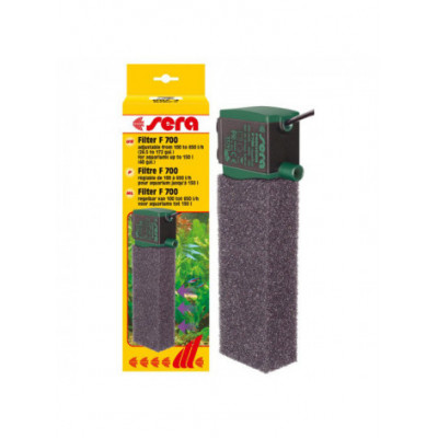 Внутренний фильтр Sera F Adjustable 700, для аквариумов до 200 литров