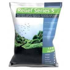 Песок черный Prodibio Relief Series S, 7,5кг