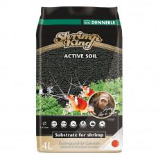 Грунт Dennerle Shrimp King Active Soil, 4л