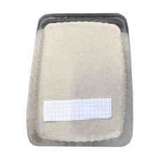 Грунт Zelaqua Кварц окатанный белый 0,2-0,6 мм. 3 кг