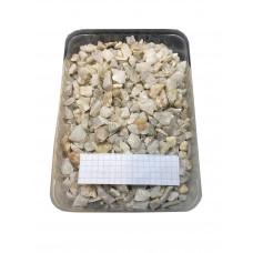 Грунт Zelaqua Кварц дробленый белый 10-15 мм. 3 кг