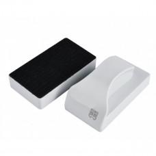 Скребок магнитный MB-115D с лезвиями плавающий супер большой (белый) для стекла толщиной до 29мм 128