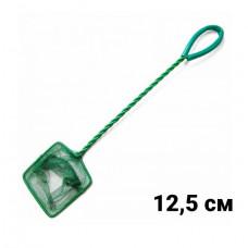 ALEAS Сачок для рыб зелёный 12,5 см