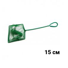 ALEAS Сачок для рыб зелёный 15 см