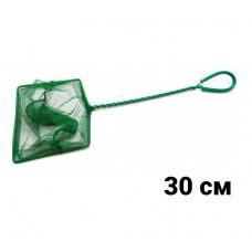 ALEAS Сачок для рыб зелёный 30 см