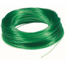 Шланг тонкий зеленый, 1м