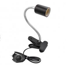 Светильник на прищепке (удлиненный) uvb+uva галоген. лампа 50вт (ZELAQUA)