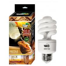 Лампа G27 / 13wt / UVB 10.0 ,  REPTILE LUCKY HERP (ZELAQUA)