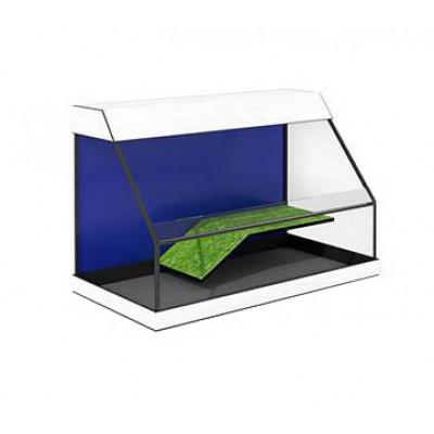 Террариум без тумбы Zelaqua 100 литров открытый (70х35х46) см.