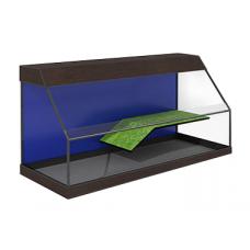 Террариум без тумбы Zelaqua 200 литров открытый (100х50х50) см.