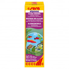 SERA ALGOVEC 50 мл - контроль за водорослями