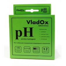 VladOx pH тест - профессиональный набор для измерения водородного показателя