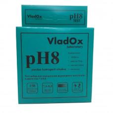 VladOx pH8 - профессиональный набор для измерения водородного показателя в диапазоне 7,4 - 8,8