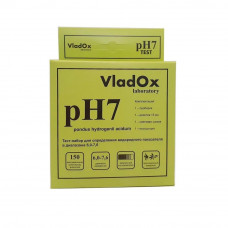 VladOx pH7 - профессиональный набор для измерения водородного показателя в диапазоне 6,0 - 7,6