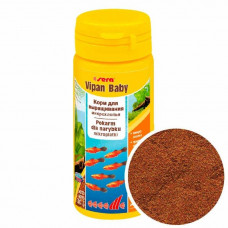 Sera Vipan Baby 50мл-корм для мальков