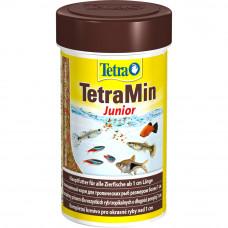 TetraMin Junior 100 мл - корм в хлопьях для молодых рыб