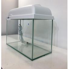 Аквариум прямоугольный с белой крышкой 10 л