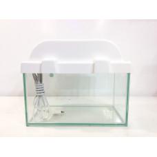 Аквариум прямоугольный с белой крышкой 5 л
